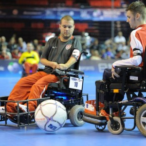 Adaptive Power Soccer
