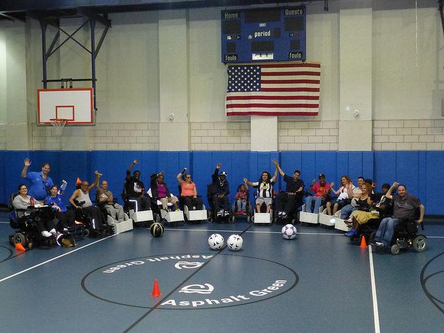 Adaptive Power Soccer