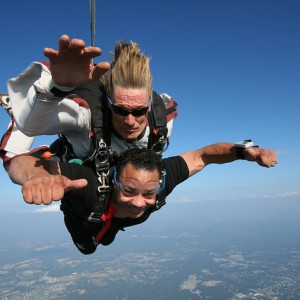 Adaptive Skydiving