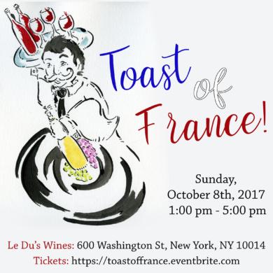 Toast of France Wine Tasting!