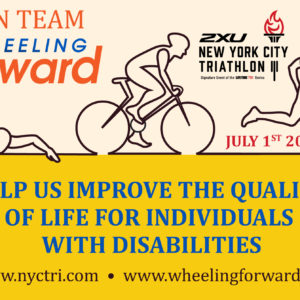 NYC Triathlon! Join Team Wheeling Forward!